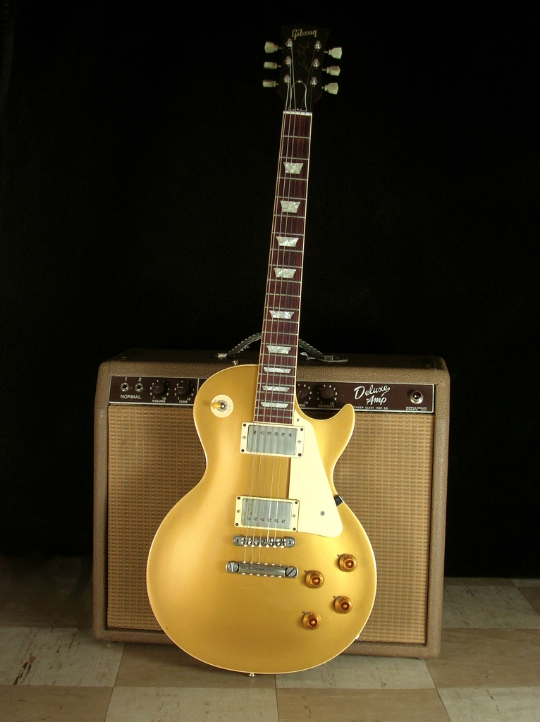 ... are consider to be one of the most attractive electric guitars ever  produced (even though they are identical to the 1957 1958 humbucking goldtop  model 6ace71ca2